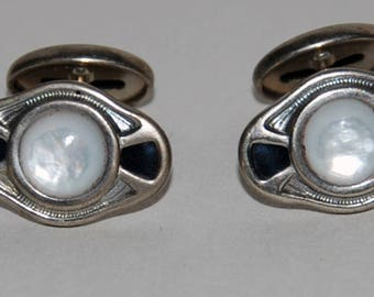 1920s-'30s Art Deco era Cufflinks  Cuff Links-- Free Shipping!