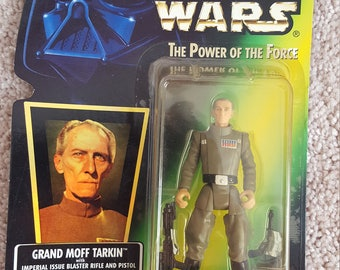 1996 Star Wars Grand Moff Tarkin by Kenner - Unopened
