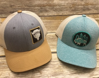 WyHOMEing Patch Hats