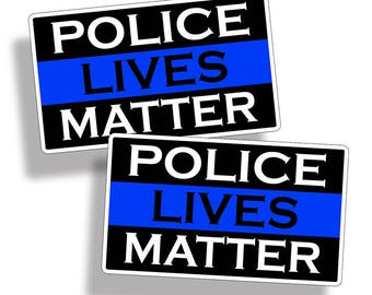 Police Lives Matter Sticker Thin Blue Line Car Truck Cup Laptop Graphic Decal K9