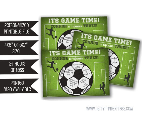 Printable soccer invitation soccer birthday invitations soccer il570xn filmwisefo Image collections