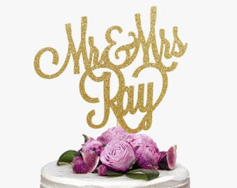 wedding cake topper personalised names wedding cake toppers etsy ca 26367