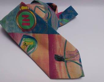 Vintage multicolor Salsa tie