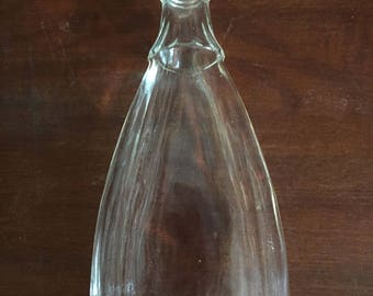 2 Old Vintage Glass Bottles