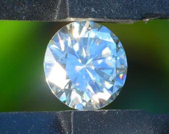 Exceptional 5.19 Carat 11.5 mm Genuine MOISSANITE, Diamond-Grade White, VVS Clarity!  USA Seller/Stock