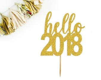 Cake Art Decor Zeitschrift 2018 : New years eve party Etsy