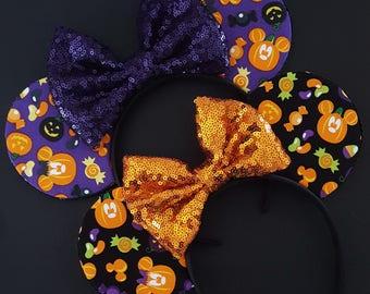 Mickey Pumpkin Mouse Ears