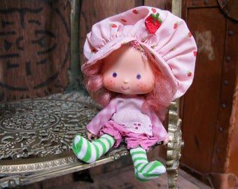 Raspberry Tart Doll, Strawberry Shortcake, Strawberry Shortcake Doll, American Greetings, Vintage Strawberry Shortcake, 1970s Doll