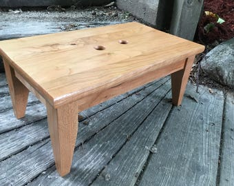 Cherry Step Stool