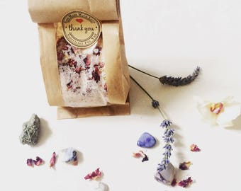 Relax Me Bath Salts 100% Natural Ingredients - Aromatherapy Bath Salts - Herbal Infunsion