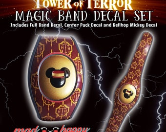 Tower of Terror 2.0 Magic Band Skin Decal Set