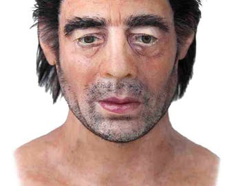 "Silicone Mask ""Benicio del Toro"" Hand Made, Halloween High Quality, Realistic,"