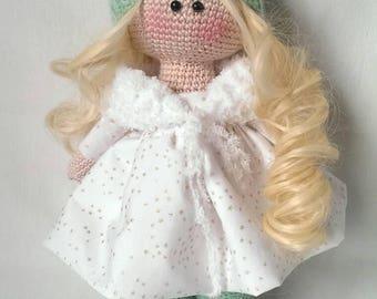 Tilda doll,Crochet Doll, Amigurumi Tilda, Crochet Tilda Doll, Doll Amigurumi, Doll Toy FREE SHIPPING