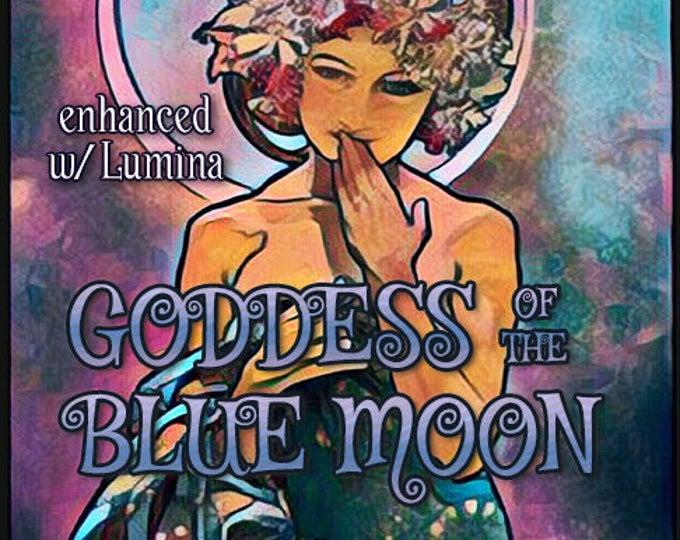 Goddess of the Blue Moon 2018 w/ Lumina - Pheromone Enhanced Perfume for Women - Love Potion Magickal Perfumerie - Pherotine 2018