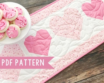 Valentine's Day Table Runner Pattern