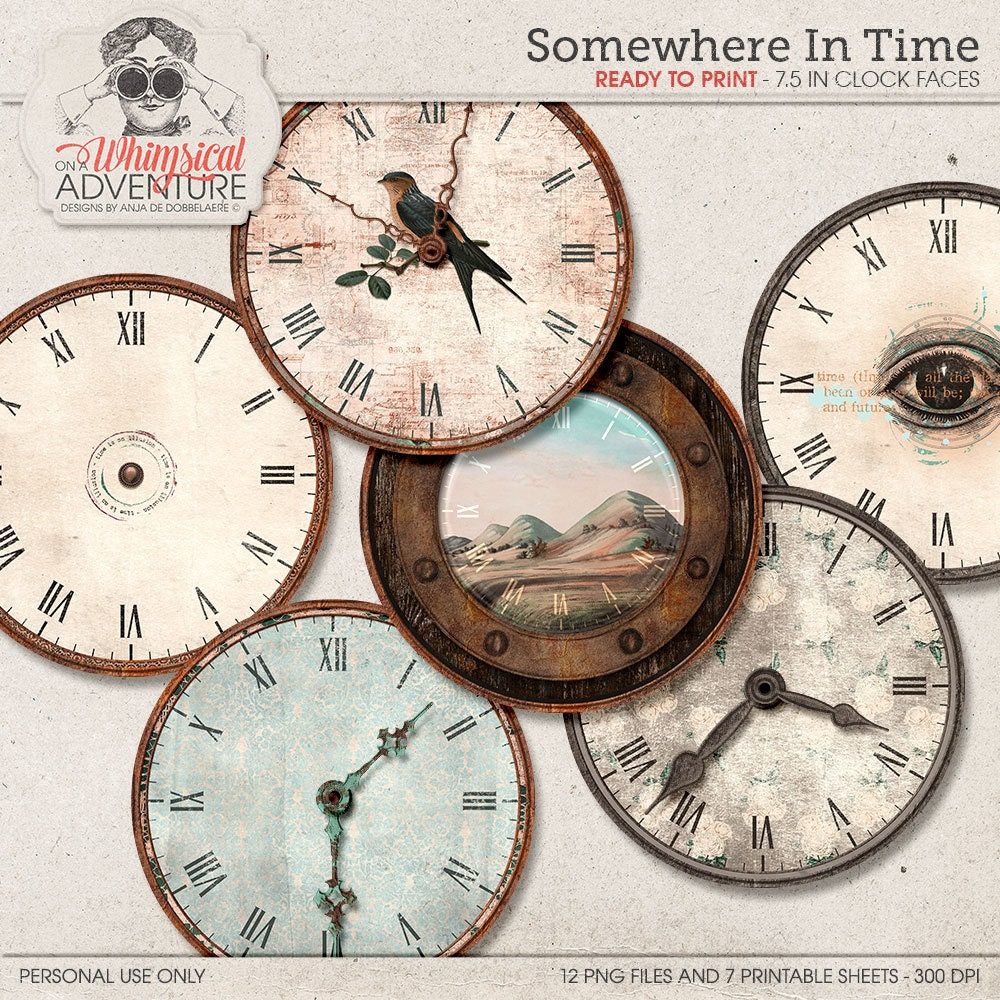 Clock with hands diy clocks make your own wall clock kit zoom amipublicfo Image collections