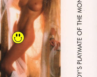 MATURE - Playboy Trading Card March Edt. 1988 - Playmate Centerfold - Susie Owens - Card #105