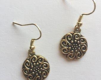 Celtic Sun Earrings