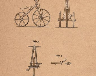 Velocipede Patent #159770 dated Feb. 16, 1875.