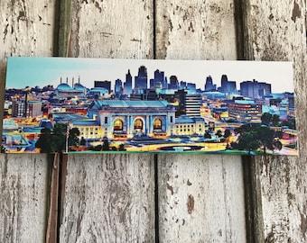 Downtown Kansas City Giclée Print...Not your grandma's skyline pic! 2nd edition...