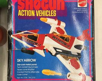 Mattel Shogun Action Vehicles Sky arrow NOS Shogun Warrior airplane nos mib