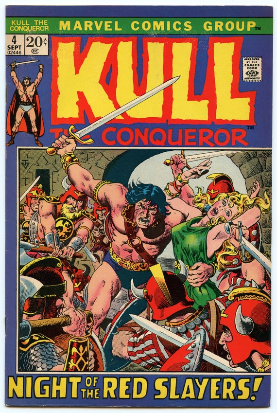 Kull the Conqueror 4 Sep 1972 FI- (5.5)