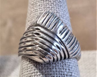 Mid-Century Sterling Silver Ring