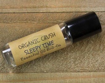 Kid's SLEEPY TIME Essential Oil Roll-on | Natural Sleep Aid for Children | Calming Essential Oils for Kids | Essential Oils for Sleep