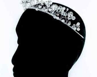 Silver & Pearl Statement Headband