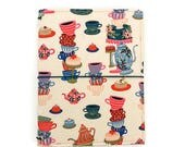Rifle Paper Co Fabric Fauxdori Tea Themed Gift Fabric Travelers Notebook MTN Gifts for Tea Lovers Gifts for Girls Gifts Under 50  GERTRUDE