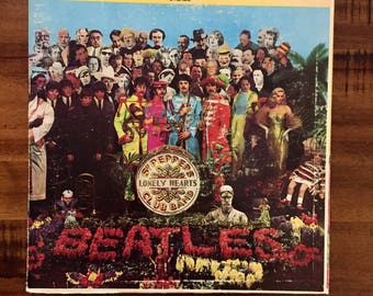 1967 The Beatles Sgt. Peppers Lonely Hearts Club Band Gatefold Album with Inner Sleeve/ Smas 2653/ Capitol Records