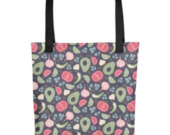 Guacamole Tote bag   Bag   Studio Carrie   Gift