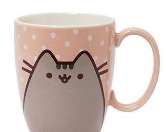 Pusheen the Cat 12 oz Mug Pink