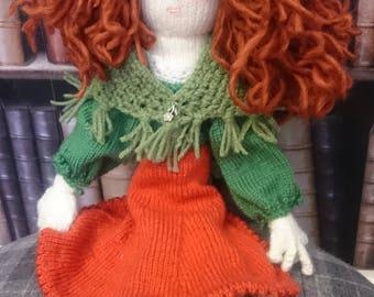 Hand-Knitted Demelza