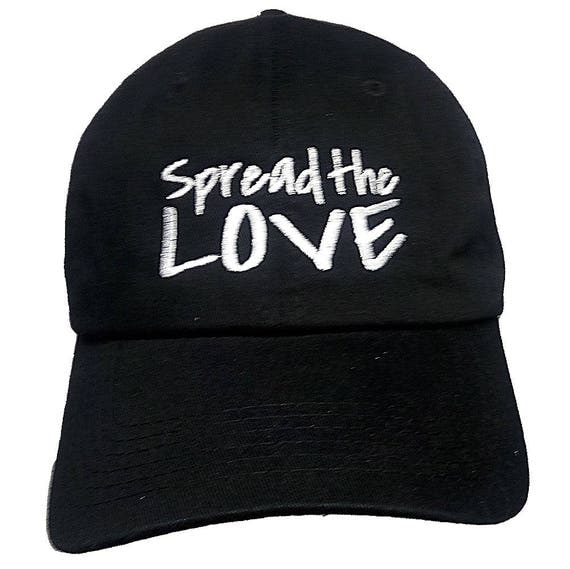 Spread the LOVE (Polo Style Ball Black with White Stitching)
