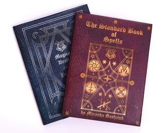 Harry Potter Wizard School Books - Set of Two