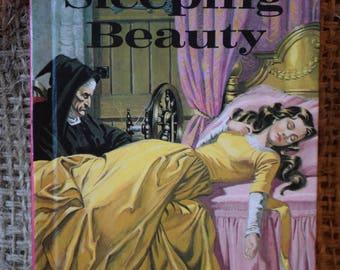Sleeping Beauty. Vintage Ladybird Book. Well loved Tales. Series 606D. 1981