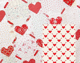 PDF Patchwork Anleitung - Love Is All Around