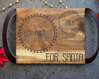 Santa Tray/Plate