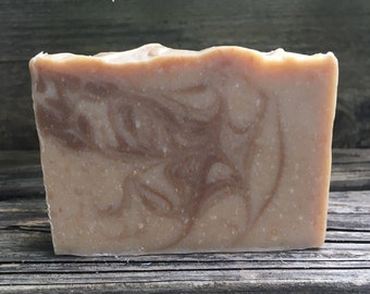 Sandalwood, Vanilla (Benzoin), Mango Butter Soap, Lard Soap, Fresh Local Goat Milk Soap, Handmade Soap, Natural Soap, Phthalate Free Soap
