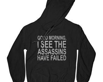 Monday hoodie, sarcastic hoodie introvert hoodie assassins hoodie funny hoodie game hoodie gamer hoodie hipster hoodie      APV20