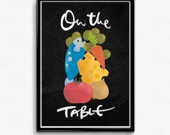 On the Table -  Art Print