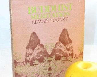 1969 Buddhist Meditation by Edward Conze -- Buddha, Dharma, Religion -- Breathing, Meditation, Mindfulness