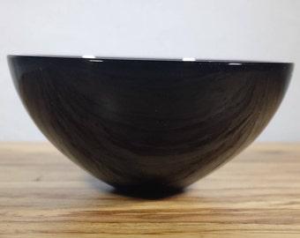BLACK OBSIDIAN BOWL Natural Stone Hand Carved Gemstone Bowl [34]