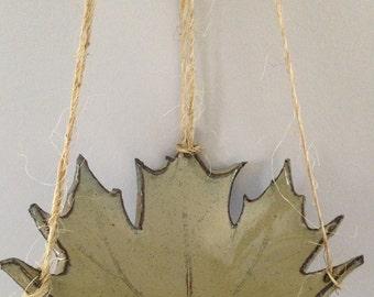 Bird feeder, Hanging Bird Feeder, Handmade by RuthiesPottery