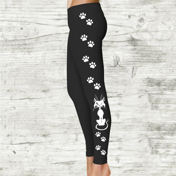 Cat Paw Ladies Costume Leggings