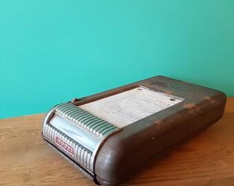 1950's Moore Service Station Receipt Machine