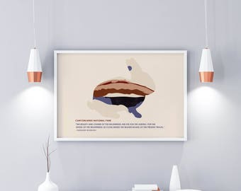 Kids National Parks - Canyonlands National Park - National Park Travel Poster - Roosevelt Quote - Vintage Poster - National Park Poster