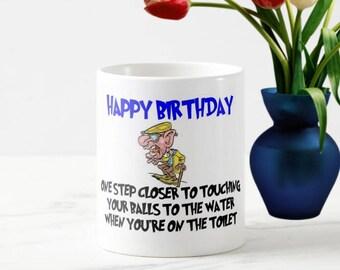 Funny Birthday Mug