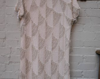 Deco Beaded Flapper Dress